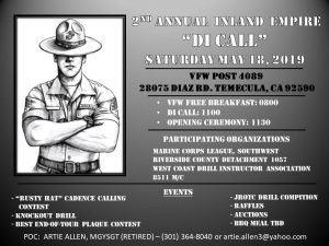 2nd Annual Inland Empire DI Call